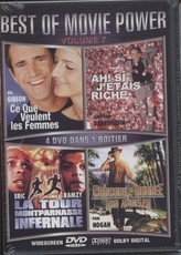 Best Of Movie Power : Vol. 7 : Ce que Veulent les Femmes / Ah ! si j'étais Riche / La tour Montparnasse Infernale / Crocodile Dundee à Los Angeles